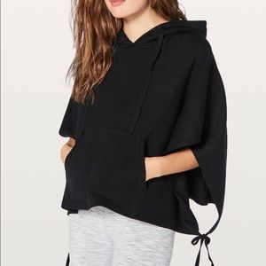 Lululemon All In A Day Hooded Poncho, O/S